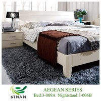 Double Bed Frames,Simple White Design