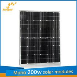 200W solae panel for solar system