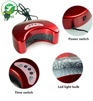 Easy Curing Comfortable led nail lamp 12w led only moon shape led lamp for nail