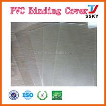 PVC cover plastic sheet PVC book cover