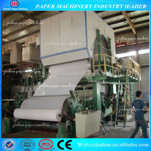 waste paper recycling 2400mm single dryer & singlecylinder mould tissue paper machine