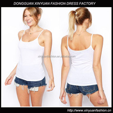 Wholesale Ladies Fashion Jersey Strappy Cami Tops