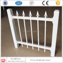 2015 Hot sales new type aluminum different types picket fences