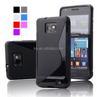 For Samsung Galaxy S2 i9100 S Line TPU Jelly Case Cell Phone Covers