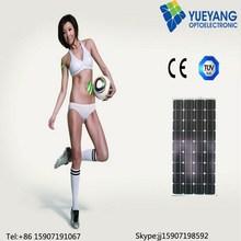 polycrystalline solar cell panel 100w 18v poly solar cell module