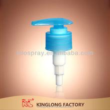 Hot!! KL ccept custom order down lock 24mm 410 28mm dispenser Plastic Lotion pump for bottle