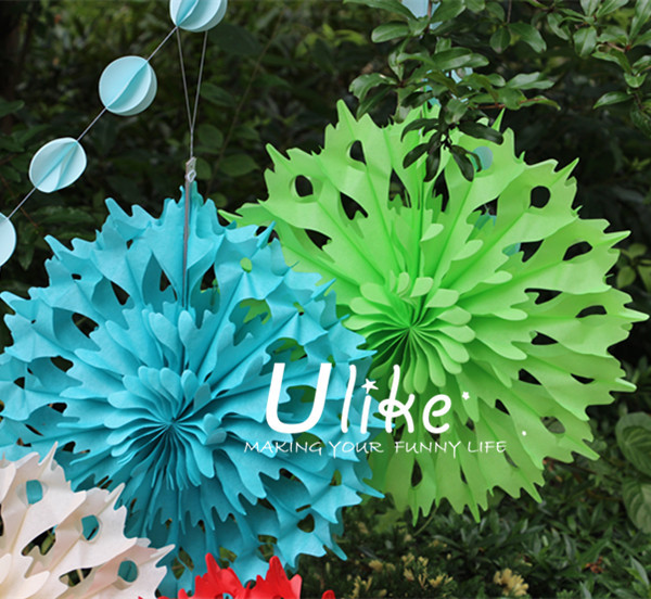 Magic tissue paper flowers ceiling fan new style tissue fan flowers ulk c5 23g mightylinksfo