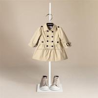 kurta designs for girl 2015 Girl winter long dust coat lining grid cloth