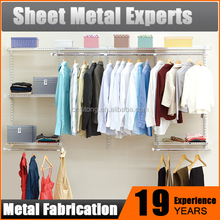 Metal Wall Shelving System/ Wardrobe Closet / Hanging Wire Shelves
