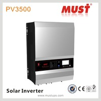 Must Brand Low Frequency Pure Sine Wave 12V/24V/48vsolar Inverter with MPPT controller