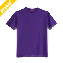 Best-Selling Soft Cheap Purple Plain/Blank T-Shirts