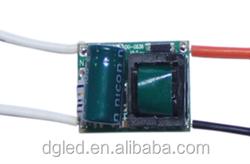 shenzhen 270-300ma adjustable constant current led driver 12v 5w