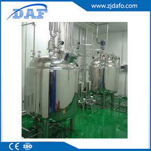 Double jacketed mixing agitated mixer tank for ice cream,mixing tank