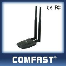 usb 802.11n 2.0 usb tarjeta de red lan adaptador para el ordenador portátil& de escritorio comfast cf-wu7201nd