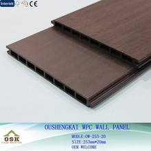 2015New Design WPC Wall Panel with CE SGS FSC