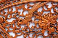 Wood carving handcraft
