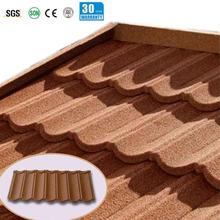 steel stone coated roof tiles red rolled roofing