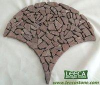 Net random paving tile,irregular stone