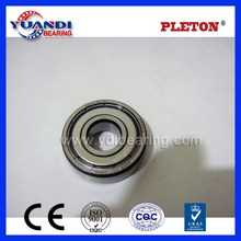 Large supply of 2015 hot sale stainless steel high speed and low noise deep groove ball 6201 rubber seal bearing