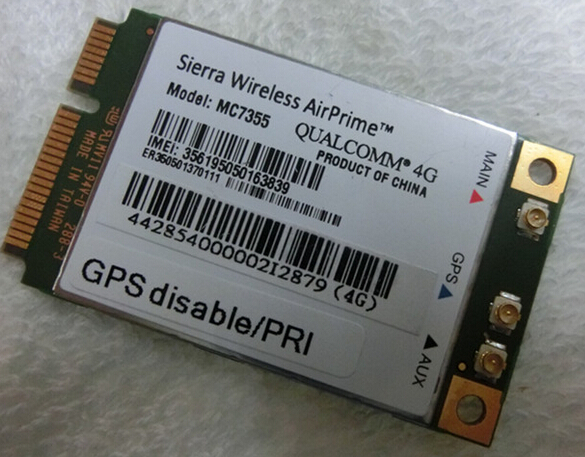 High speed sierra wireless embedded mc7355 mc7354 4g lte module
