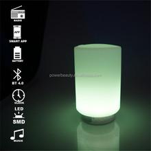 Active enlarge SMD led lighting indoor music speaker multi function table decor smart audio