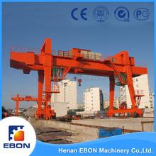 China Professional Material Handling Equipment MG Model Double Girder Gantry Crane 200 ton
