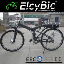 "26"" hummer folding electric bike Chinese Manufacturer green power sport mountain electric bike(E-TDF07FXblack)"