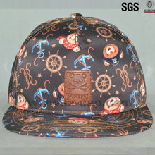 Newest design high quality and cheap custom hip hop flat brim snapback hat and cap