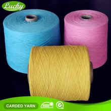 Professional yarn supplier high tenacity asia knitted market cotton sock yarn exporter