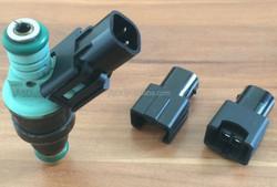 Fuel Injector Sensor USCAR EV6 EV14 Male-Boschs EV1 Male Auto Connector Wireless