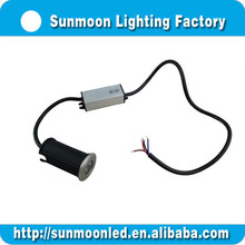 IP67 led lights mounting in concrete 304 Stainless Steel RGB LED uplight/deck light garden decorative tree light