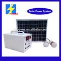 12v 12ah solar para el hogar deiluminación de emergencia 20w sistema de alimentación del sistema