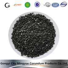 Smelting iron and steel by 1-5mm carbon additive