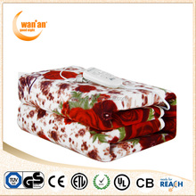Factory Customize Synthetic Wool Baby Electric Blanket