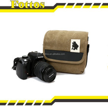 2015 China suppliers wholesale cheap high quality canvas dslr camera bag
