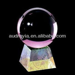 Nice faceted crystal balls