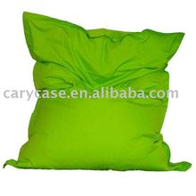 Original lime green large beanbag seat,outdoor bean bags sofa chair,waterproof square beanbags