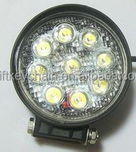 New design auto tuning led lights 12V 4inch 18W LED work light offroad round shape