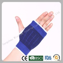 Knitted elastic wrist support palm support