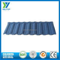 Light weight aluminum zinc alloy coating metal roof tiles