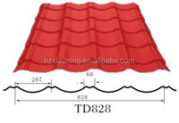 red galvanzied aluminium steel corrugated roofing tile tile/sheets