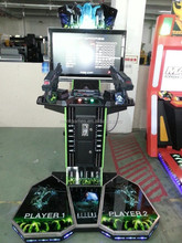 2 players shooting game machine / coin operated game / video simulator gun shooting arcade machine for entertainment