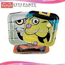 asia Birthday Party Theme Packs Plates elegant plastic plates unique paper dish
