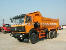 6*4 U style hopper GUM dump truck for sale
