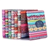 Tribal Pattern 360 Rotating Elastic Belt PC+PU Leather Flip Stand Covers for iPad Air 2
