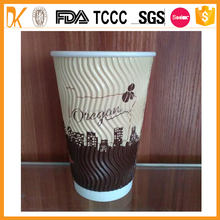 Disposable paper cup for coffee 7oz paper cup wholesale