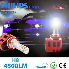 Qeedon eco-friendly h9 led car headlight bulbs pride headlights application guide