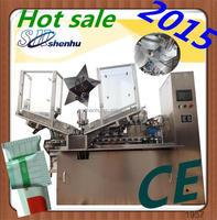 Hand cream plastic tube filler and sealer machine