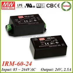 Meanwell IRM-60-24 switch mode power supply 24v 2.5a