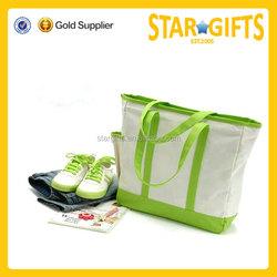 Custom Fashionable Eco Felt Foldable Tote Bag With Snap Closure